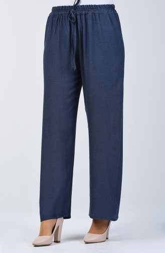 Waist Laced Trousers 5296-01 Blue 5296-01