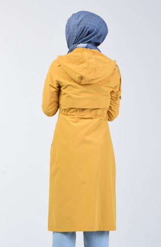 Mustard Trench Coats Models 6095-06