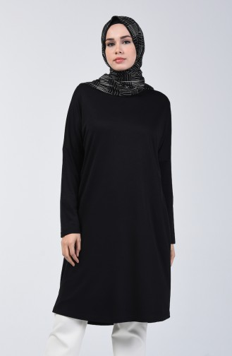 Yarasa Kol Sandy Tunik 8023-01 Siyah