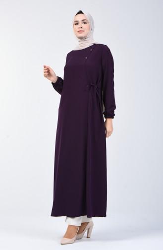 Purple Abaya 6814A-01