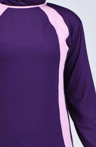 Purple Swimsuit Hijab 28008