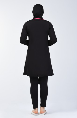 Black Swimsuit Hijab 28009