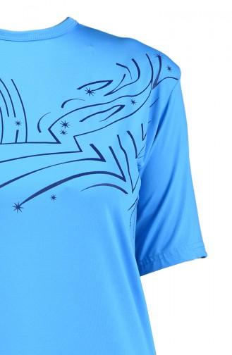 Blue Swimsuit Hijab 28031