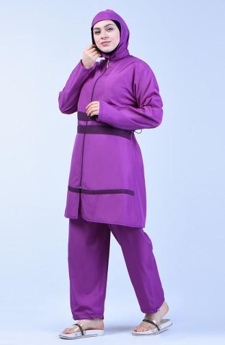 Lilac Swimsuit Hijab 28041