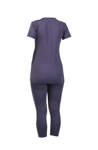 Women s Short Sleeve Pool Swimsuit 28046 Smoked 28046