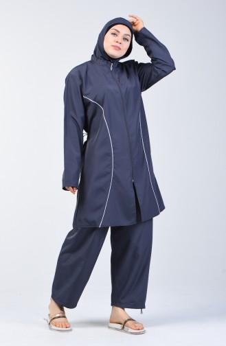 Light Black Swimsuit Hijab 28050