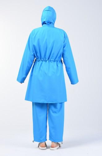 Blue Swimsuit Hijab 28051