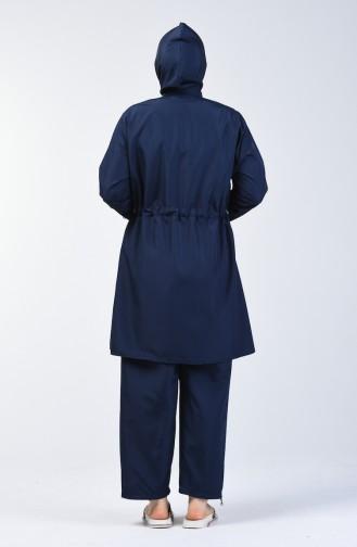 Navy Blue Swimsuit Hijab 28053