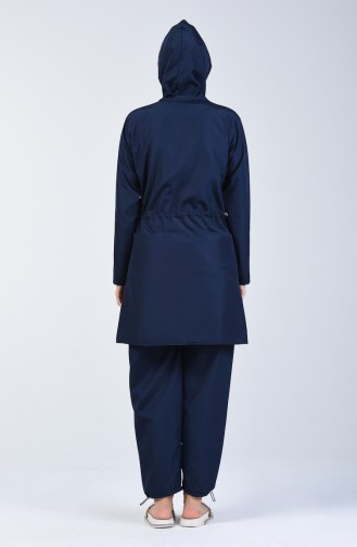 Navy Blue Swimsuit Hijab 28062