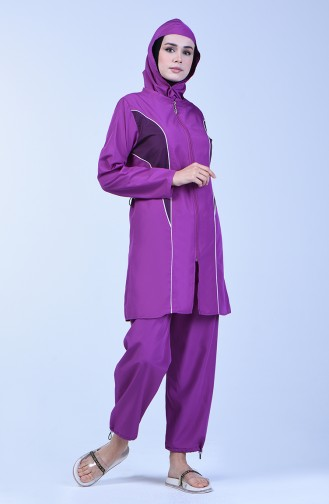 Lilac Swimsuit Hijab 28064