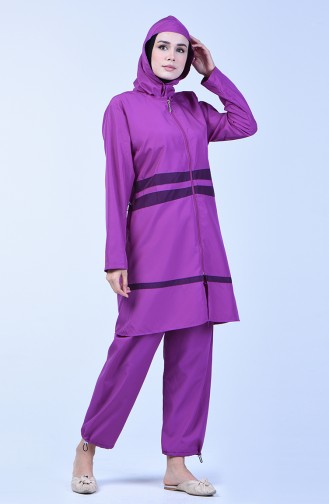 Women s Islamic Swimsuit 28073 Lilac 28073