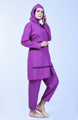 Lilac Swimsuit Hijab 28073