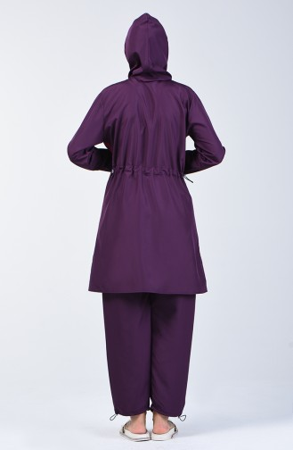 Purple Swimsuit Hijab 28124