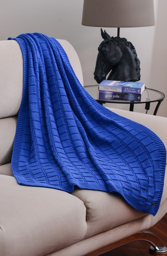 Can Tv Blanket 100X170 Can00002-01 Navy Blue 00002-01