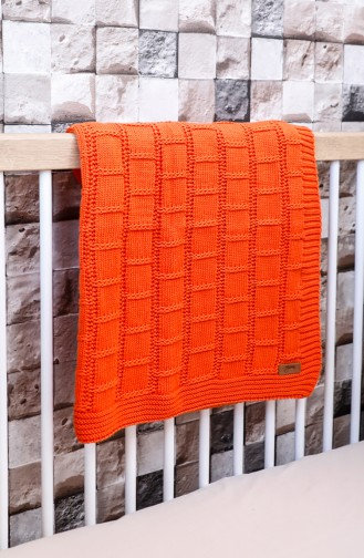 Can Baby Blanket Orange 00001-04