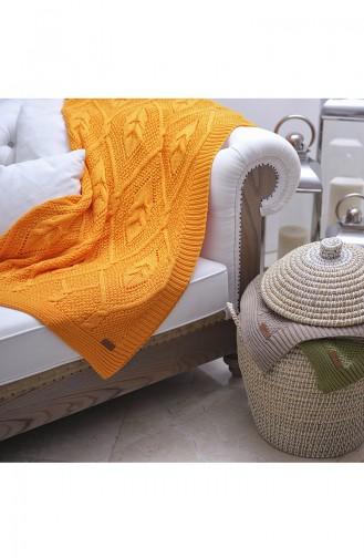 Ceysun Tv Blanket 130X170 Ceysun00002-1 Orange 00002-1