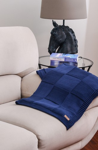 Demir Tv Blanket 100X170 Demir00002-01 Navy Blue 00002-01