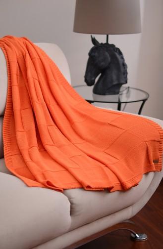 Demir TV Blanket Orange 00002-02