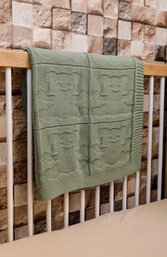 بطانية للأطفال أخضر 00001-02