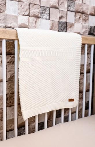 Kumsal Baby Decke 90x90 Kumsal00001-01 Naturfarbe 00001-1