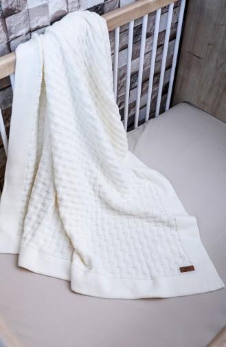 Masal Baby Decke 90x90 Masal00001-01 Naturfarbe 00001-01