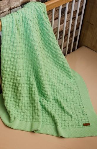 Masal Baby Decke 90x90 Masal00001-02 Grün 00001-02