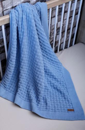Masal Baby Decke 90x90 Masal00001-03 Blau 00001-03