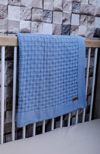 Masal Tv Blanket 90x90 Masal00001-03 Blue 00001-03