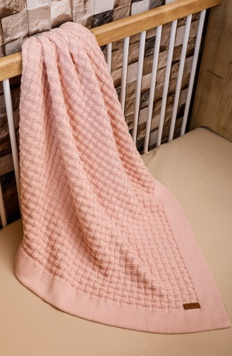 Masal Baby Decke 90x90 Masal00001-04 Pink 00001-04