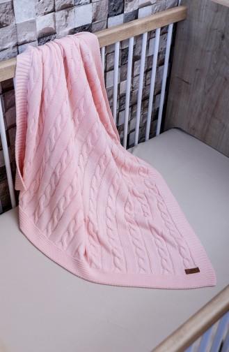 Poyraz Couverture Bébé 90x90 Poyraz00001-5 Rose 00001-5