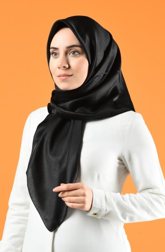Soft Royal Eşarp 13169-01 Siyah
