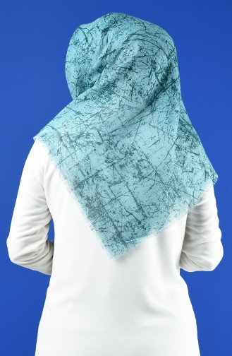 Patterned Flamed Scarf 901600-01 Mint Green 901600-01