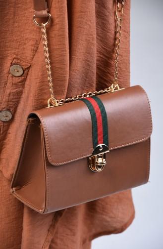 Ladies Shoulder Bag Bp10618ka Brown Skin 10618KA