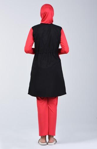 Black Swimsuit Hijab 1876-01