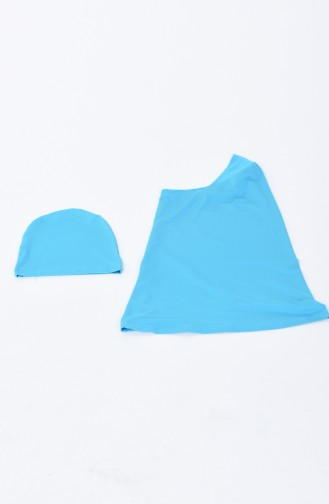 Turquoise Swimsuit Hijab 1974-01