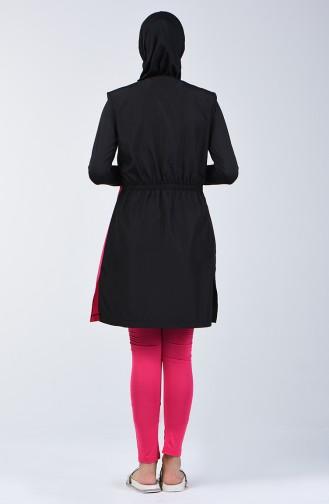 Black Swimsuit Hijab 1881-02