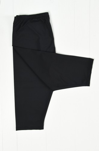 Under The Knees Pool Tights 0121-01 Black 0121-01