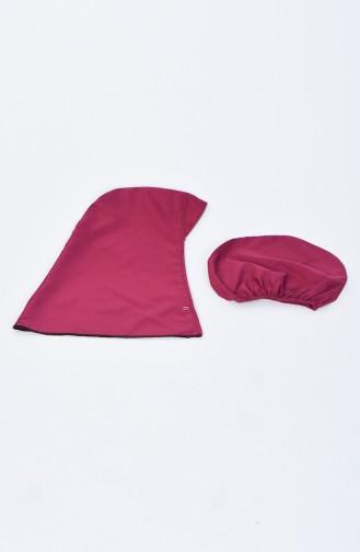 Damen Hijab Badeanzug 28092 Zwetschge 28092