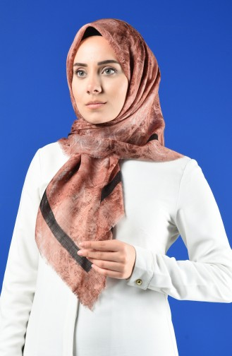 Patterned Flamed Scarf 901603-08 Onion Peel 901603-08