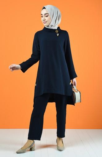 Navy Blue Suit 6573-06