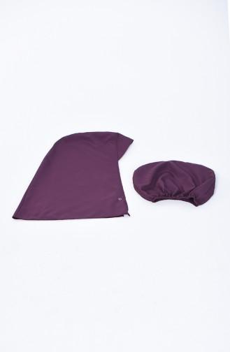 Women s Islamic Swimsuit 28076 Purple 28076