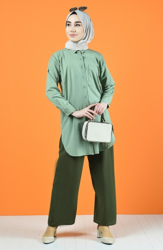 Waist Laced Trousers 5296-02 Khaki 5296-02