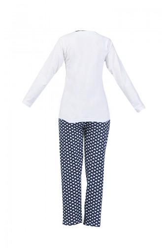White Pyjama 2100-01