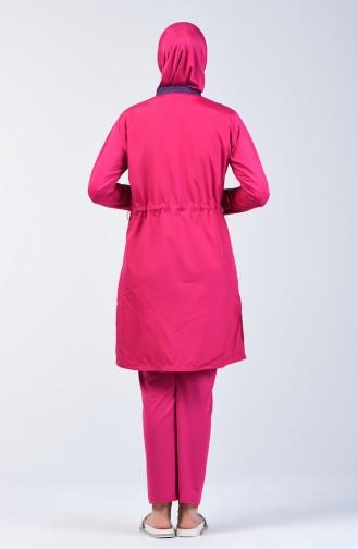 Islamic Swimsuit 1878-03 Damson 1878-03