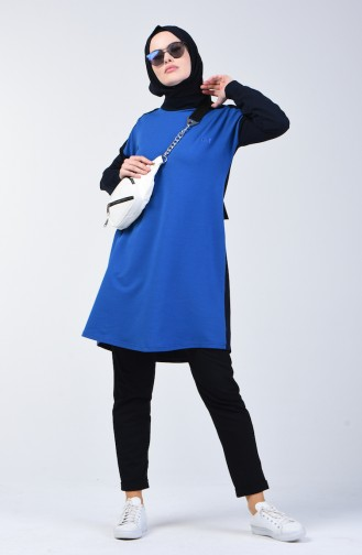 بدلة رياضية أزرق وكحلي 0415A-02