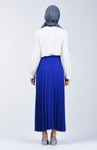Pleated Skirt 5224-14 Saxe 5224-14