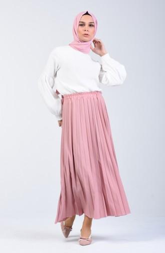 Pleated Skirt 5224-17 Dark Powder 5224-17