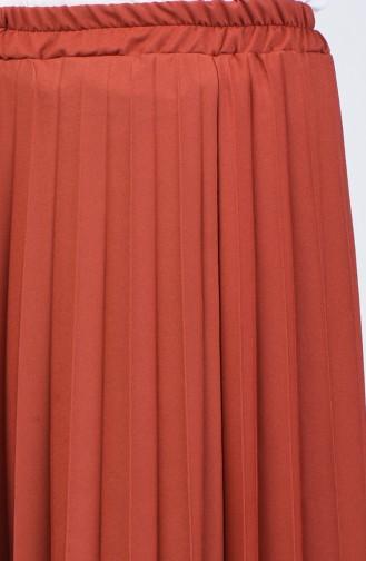 تنورة قرميدي 5224-18