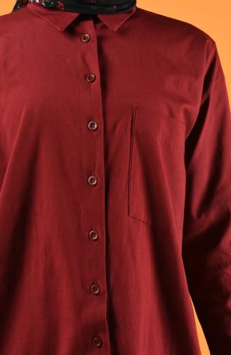 Claret red Shirt 5291-02