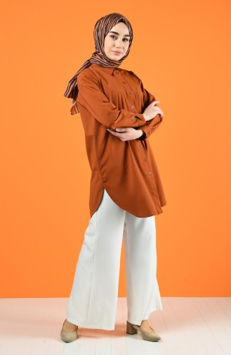 Tile Overhemdblouse 5291-03